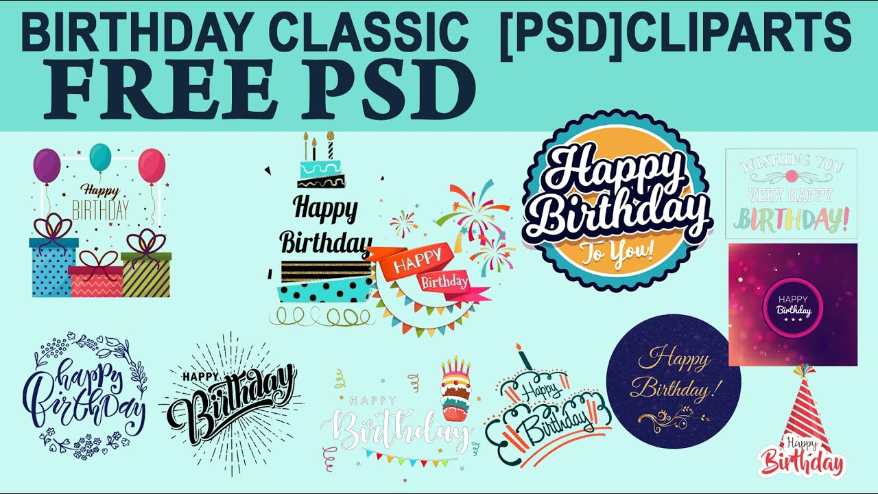 Free psd Download birthday cliparts hd psd images in telugu tutorials  [ss free psd]#627