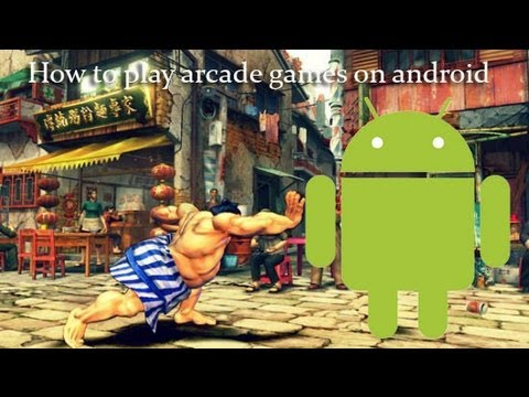 How To Play Arcade Games On Android  ( Capcom-Neo Geo )