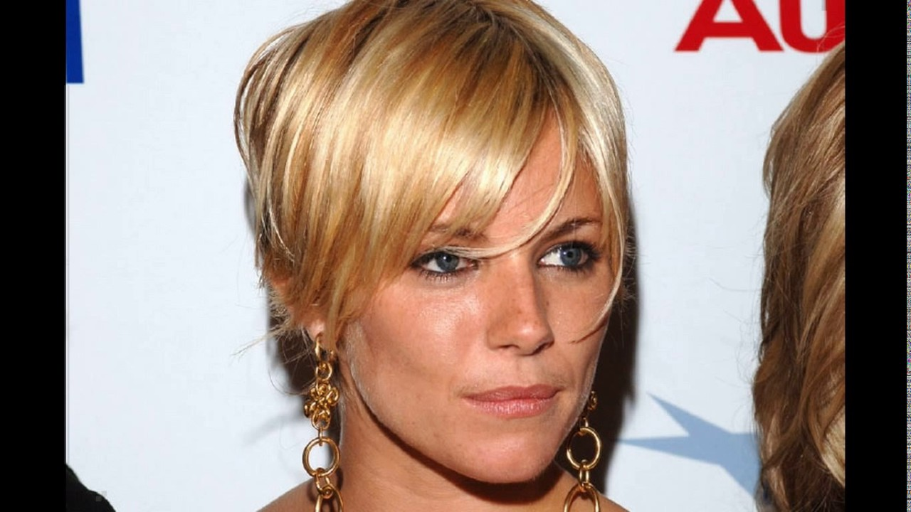 sienna miller short hair