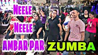 Neele Neele Ambar Par    Bollywood Zumba Dance  Choreography    STEPPERS DO THE STEPS