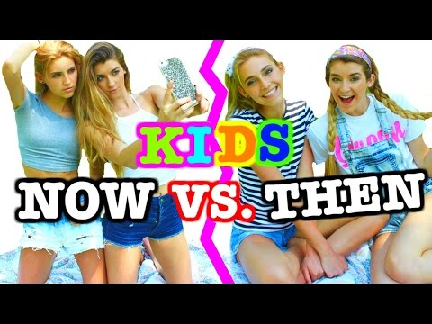 Kids Now Vs. Kids Then
