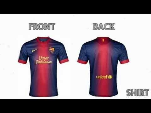FC Barcelona Home Kit - 2012 / 2013