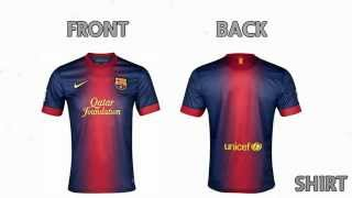 Fc barcelona home kit - 2012 / 2013 ...