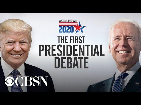 Watch live: Trump, Biden face off in first 2020 presidential debate