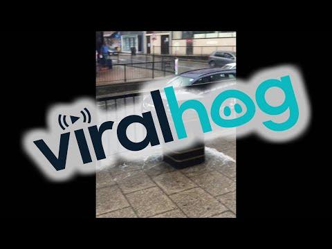 Flash Flooding Causes Driver Madness || ViralHog