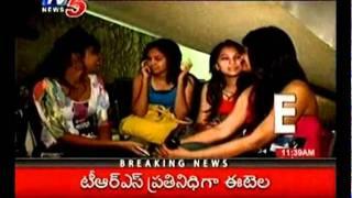 TV5 news - Hot Models Halchal at Miss Hyderabad Selections