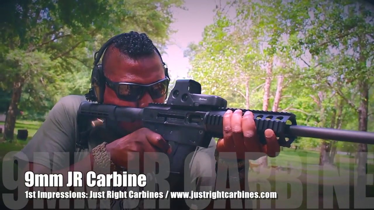 9mm Glock Magazine Carbine Rifle From Just Right Carbines Review