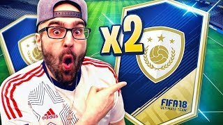 2x GUARANTEED ICON PACK SBC *YOU WONT BELIEVE THIS* - FIFA 18 ULTIMATE TEAM