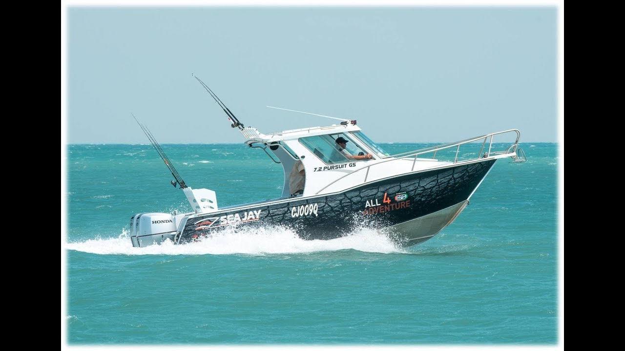 All 4 Adventure TV on Sea Jay Aluminium Boats