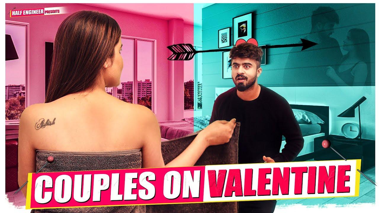 Couples On Valentine || Half Engineer