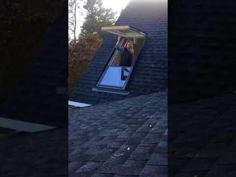 Velux Cabrio Balcony Window Opening