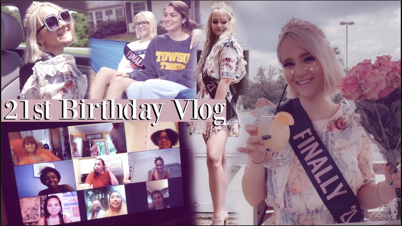 my extra 21st birthday vlog