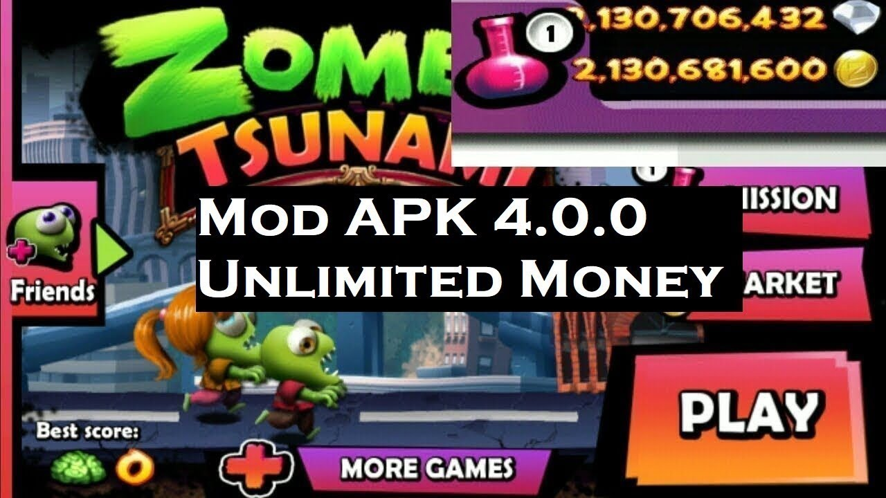 zombie tsunami unlimited coins apk free download