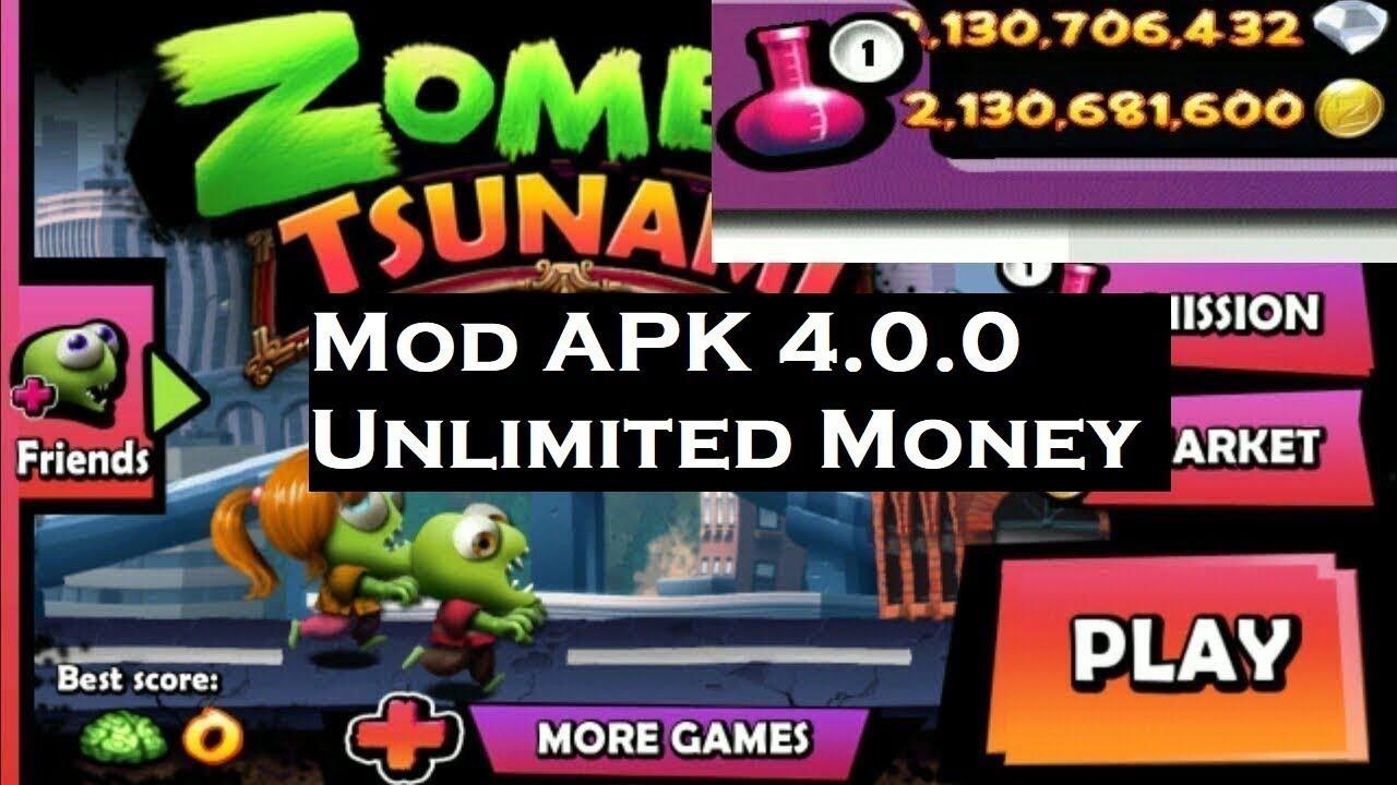 hack Zombie Tsunami 4 0 0 MOD APK Unlimited Money 2019 free (no root)
