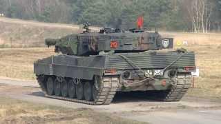 PzBtl33 Goldener Schuss mit Kpz Leopard 2 120mm Bergen-Hohne Bundeswehr