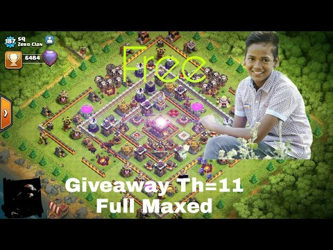 clash of clans account giveaway free th 11 clash of clans accounts giveaway free youtube 4569