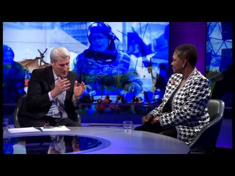 NEWSNIGHT: UN's Valerie Amos says West needs more courage on Syria