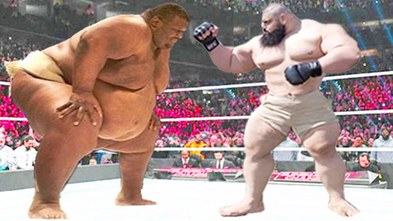Sumo Emmanuel Yarborough vs Sajad Gharibi - Iron Man Match