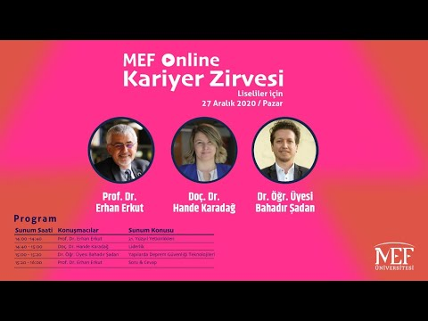 MEF Üniversitesi Online Kariyer Zirvesi/2021