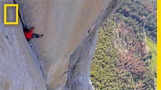 See First Video of Most Dangerous Rope-Free Climb Ever (Alex Honnold) | National Geographic