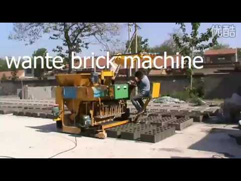 WT6 30 mobile block machine from linyi wante