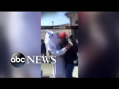 California Student Dresses As KKK Grand Wizard For School Project
