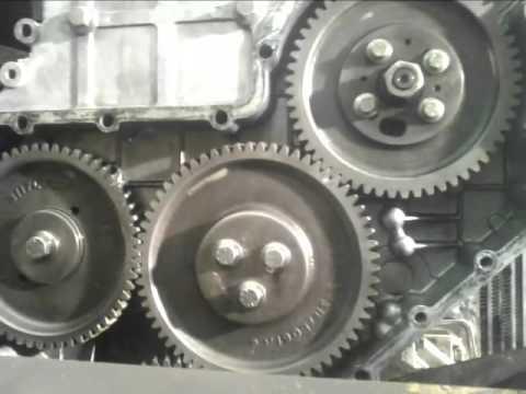 sincronizacion Motor turbo Diesel perkins cuatro cilindros