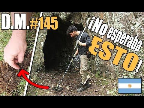 EL CAMINO DEL ORO EN ARGENTINA 🇦🇷 Con detector de metales White's - Detección Metálica 145