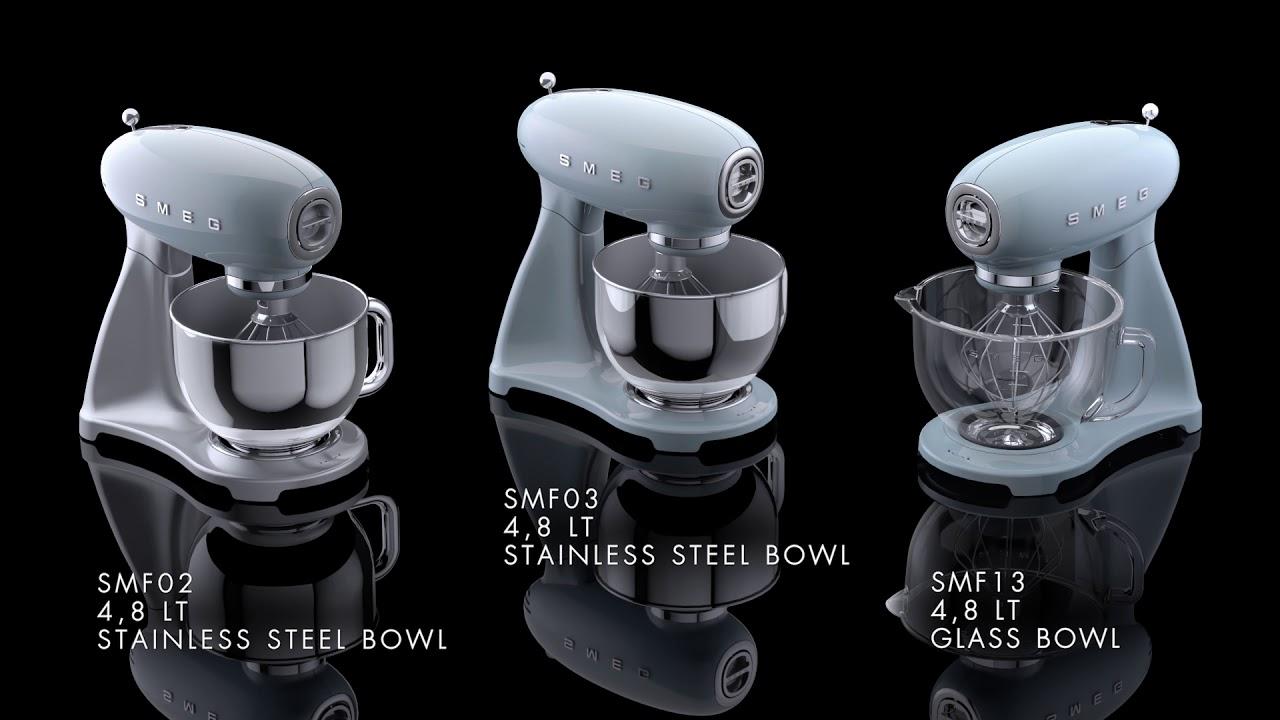 Smeg Stand Mixer Video Smf02 Smf03 Smf13 2 Minutes Youtube