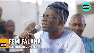 2019 Election: It Is Either Buhari or Atiku, We are In Trouble - Femi Falana