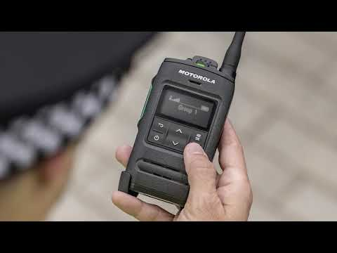 ST7500 Compact TETRA Radio Key Features - YouTube