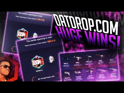 BIG WINS ON DATDROP GROUP BATTLES! (FACE CAM)