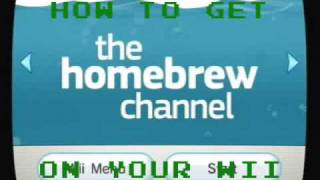 how to get the homebrew channel on your wii