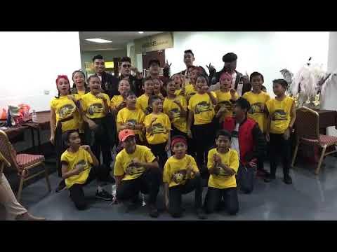 Putri Mai In Baby Shark With OSP Dancers + KRU Artist (before Performance FFM29)