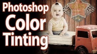 Creating Sepia Tone Tinting Using Photoshop - Step by Step Tutorial