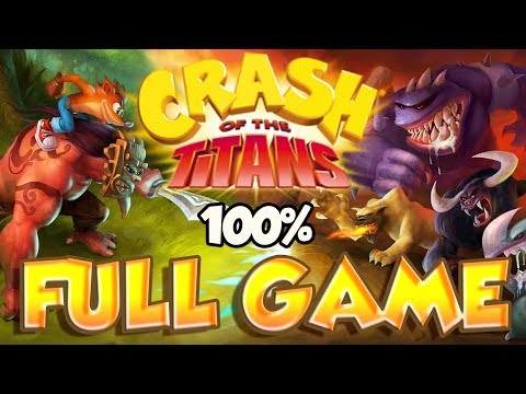 Crash of the Titans FULL GAME 100% Longplay  (X360, PS2, Wii, PSP)