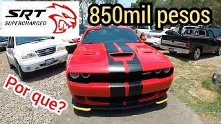 CUANTO CUESTA un auto usado deportivo Dodge challenger HELLCAT tianguis de autos en venta