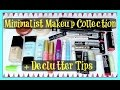 Minimalist Makeup Collection and Declutter Tips ┃ ASL Stew Life