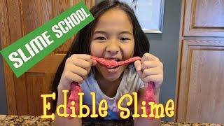 Slime School #1: Make Edible Slime with Just 3 Ingredients