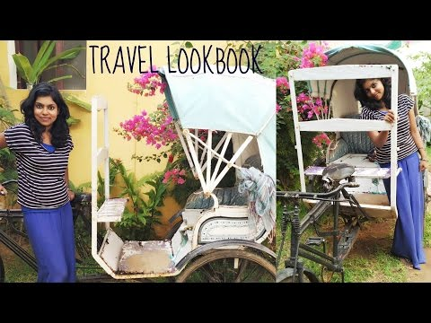 Travel LookBook - Pondicherry Travel Outfit Ideas