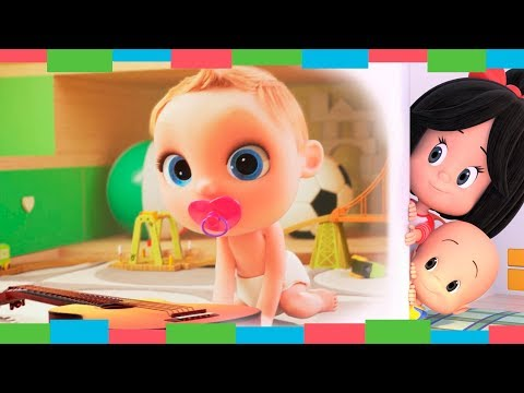 FAMILIA DEDO y más Canciones Infantiles de Looloo Kids   Cleo & Cuquín - Familia Telerín (45min)