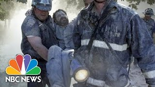 Photojournalist Survived Close Call with South Tower Collapse on 9/11 | NBC News