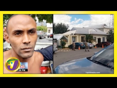 Manhunt for Inmate who Shot Policeman in Jamaica   TVJ News