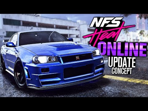 Need For Speed HEAT - Online Multiplayer Update Concept (GAMES & Races)