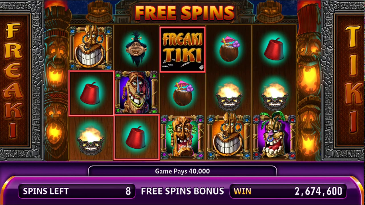 Free Casino Games With Bonus Spins
