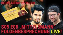 🔴 LIVETALK: Better Call Saul S5 E8 'Mittelsmann' (Analyse, Kritik, Podcast) DEUTSCH #34
