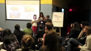 Cook up the core: Mete Metioglu, Michelle Huang and Debora Javier at TEDxQuestSchool