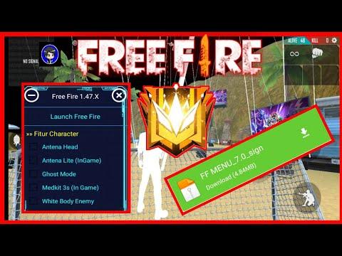 TERBARU MOD MENU FREE FIRE VERSI 1.47.0 AUTO HEADSHOT NO FC FREE FIRE - 동영상