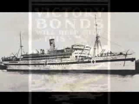 RMS Llandovery Castle, Union Castle Line, Way down under - Twenties Music