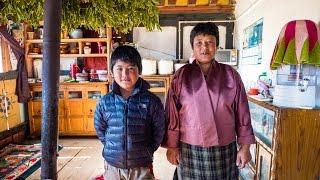 Bhutan Food at Culture at Local Farm Village in Phobjikha Valley, and a YAK BURGER! (Day 15) thumbnail
